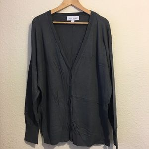Pure Energy Plus Size Cardigan